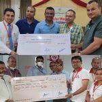 महालक्ष्मी विकास बेैंकद्वारा विद्यालयमा शुद्ध खानेपानी व्यवस्थापन